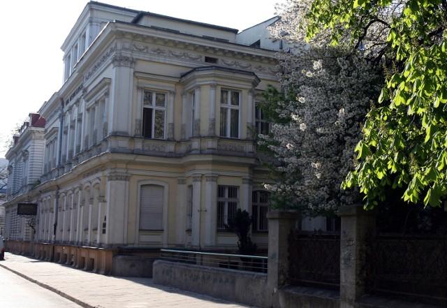 Ogłoszenie listy dofinansowanych miast odbyło się w willi Meyera w Łodzi