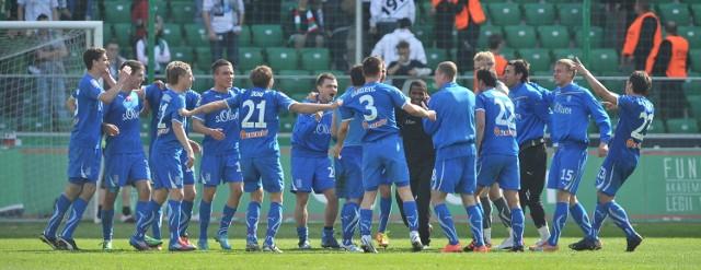 Lech Poznań pokonał Legię Warszawa 1:0