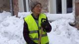 Gdańsk: 80-letnia rencistka odśnieża dzielnicę (FILM)