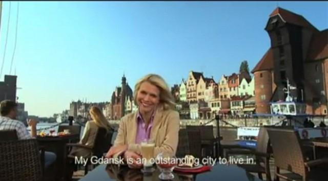 Kadr z filmu promującego Gdańsk na Euro 2012