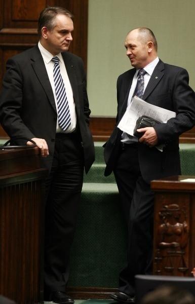 Ostatnie spotkanie Pawlaka i Sawickiego jako członków rządu