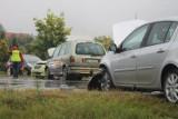 Znamy szczegóły wypadku pod Krotoszynem z udziałem trzech aut [ZDJĘCIA]