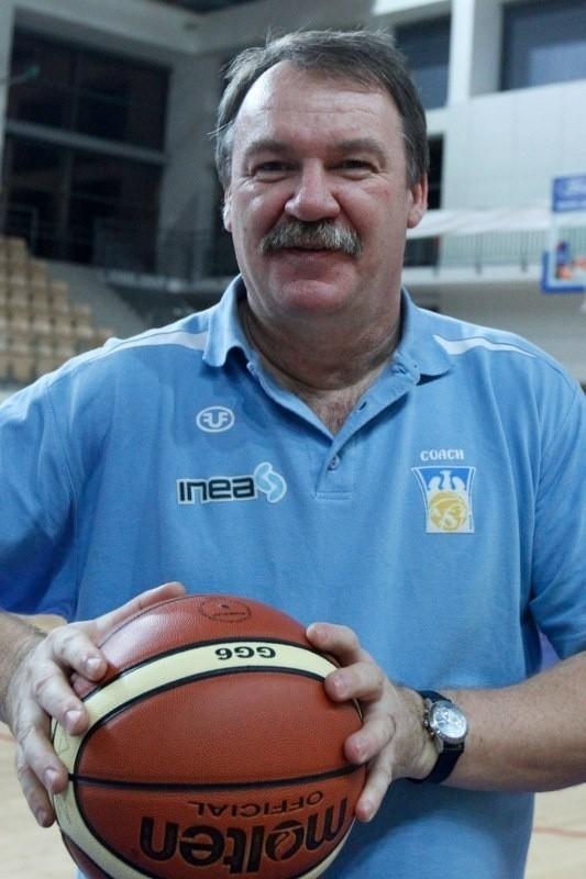 Ryszard Barański, trener koszykarek Inea AZS Poznań.