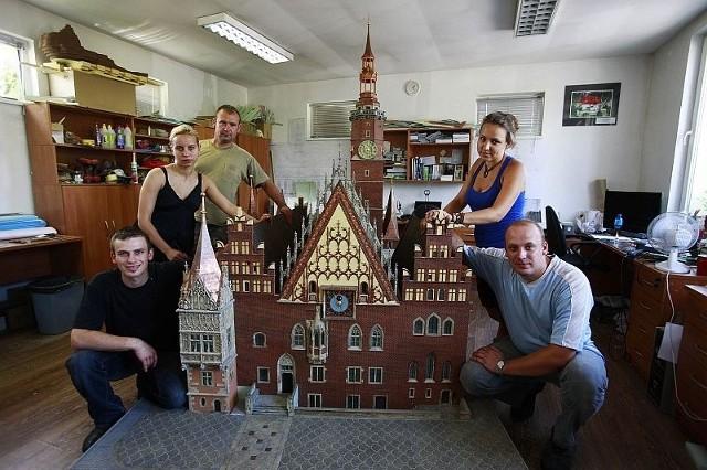 Na zbudowanie miniatury wrocławskiego ratusza wydano ponad 120 tys. zł