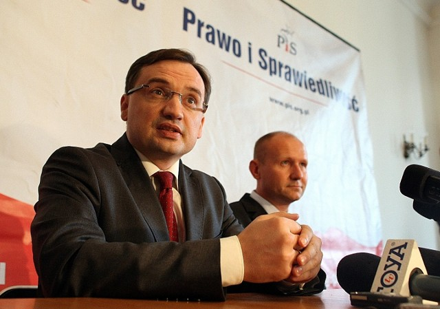 Zbigniew Ziobro poparł w Łodzi Dariusza Barskiego