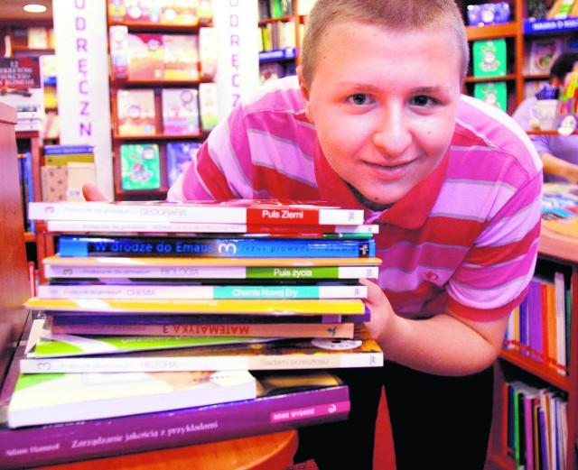 Michał Nicze kupował podręczniki w katowickiej księgarni