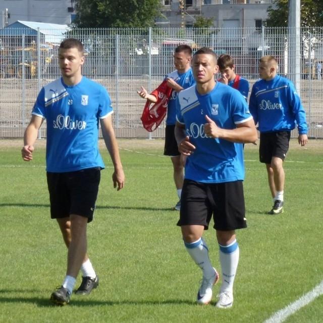 Marciano Bruma musi nadrobić zaległości treningowe. W Lechu Poznań jest dopiero od dwóch tygodni.