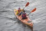 Malbork. Maraton kajakowy na Nogacie. Pływali, póki pogoda nie stanowiła przeszkody