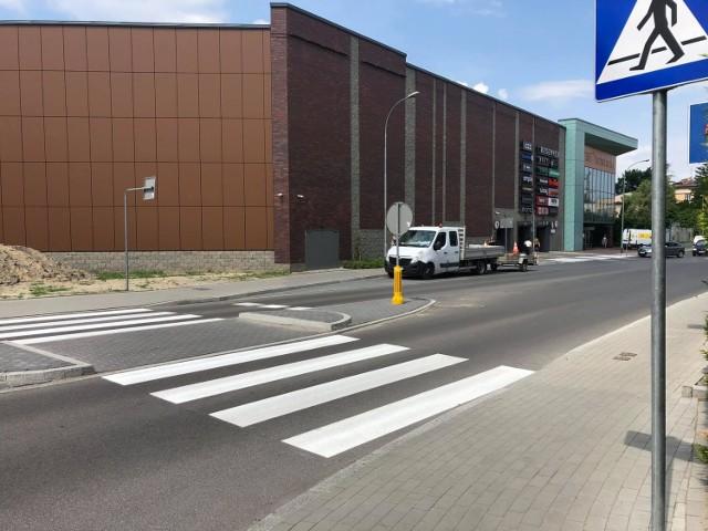 Przejście na ulicy Sikorskiego w Jarosławiu