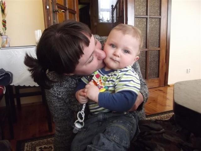 mama: Agnieszka Gołembowska, syn Gabriel