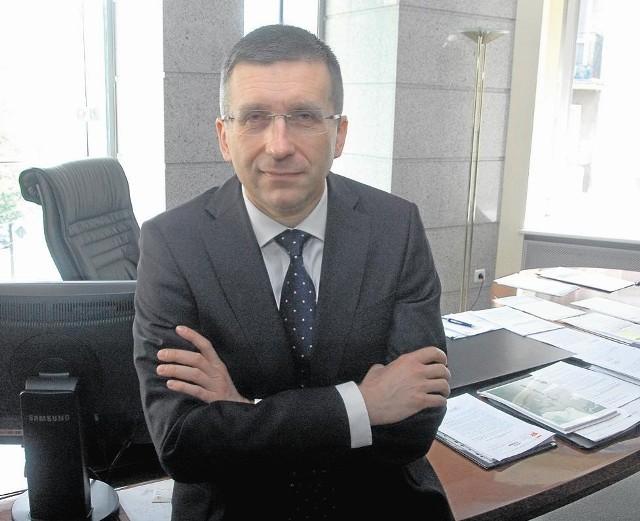 Prezes spółki ENEA Maciej Owczarek