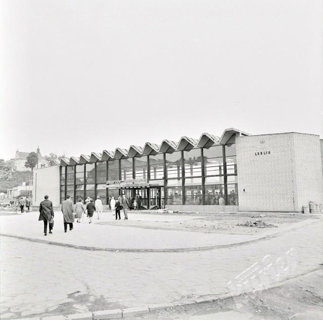Dworzec PKS w Lublinie  Hala dworca