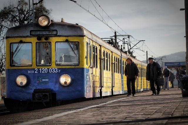Ruch pociągów SKM na odcinku Gdańsk Główny - Wejherowo