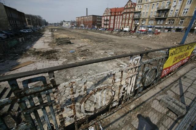Tak wyglądała budowa Drogowej Trasy Średnicowej w Gliwicach. Zobaczcie zdjęcia.