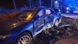 Zderzenie dwóch aut w Cisowie, w środku pojazdów 4 osoby ZDJĘCIA