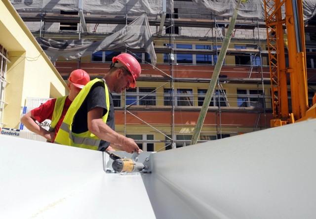 Prace budowlane w szpitalu powinny się zakończyć pod koniec wakacji