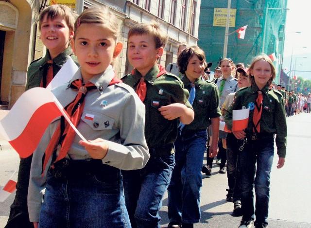 Święto 3 Maja w Bielsku-Białej miało dużą frekwencję