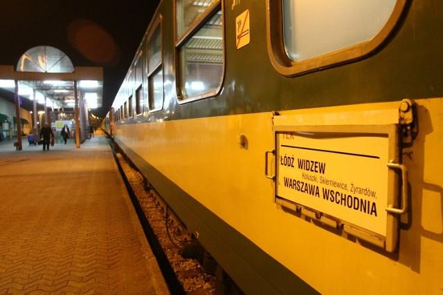 Pociągi z Łodzi do Warszawy notorycznie się spóźniają