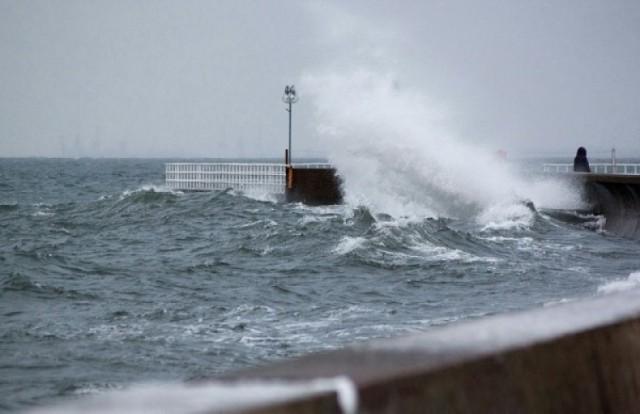 Cofka, zalane plaże, domy i ulice, alarm przeciwpowodziowy, ...