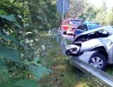 Wypadek na skrzyżowaniu w Wielkiej Piaśnicy na DW 218: kosztowna lekcja zwracania uwagi na znaki drogowe   NADMORSKA KRONIKA POLICYJNA