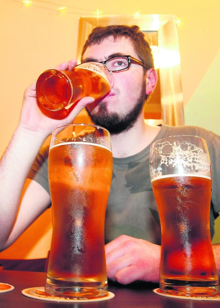 Piwo często traktowane jest jak napój chłodzący a nie alkohol