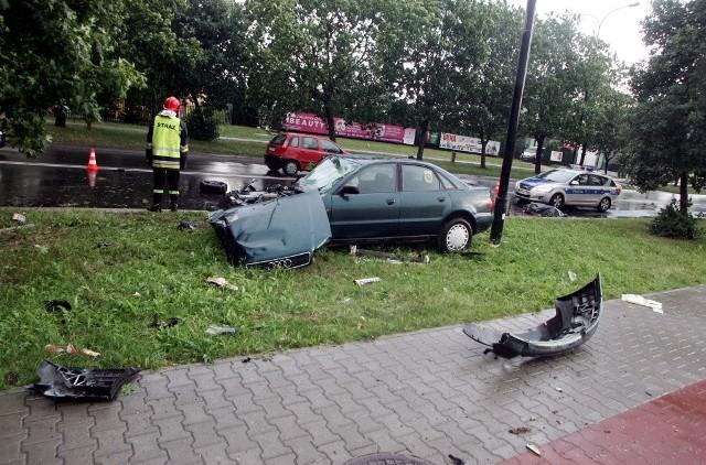 Śmiertelny wypadek na ul. Związkowej
