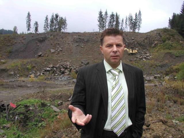 Wójt Ujsół Tadeusz Piętka ma nadzieję, że to miejsce przyciągać będzie turystów