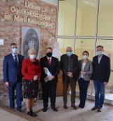 Łódzki kurator oświaty wizytował szkoły z terenu powiatu poddębickiego (zdjęcia)