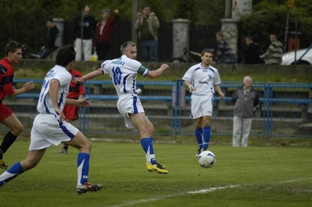 Afera dotyczy sezonu 2007/2008. Na zdjęciu mecz Unii Swarzędz z Polonią Chodzież z 24 maja 2008 roku.
