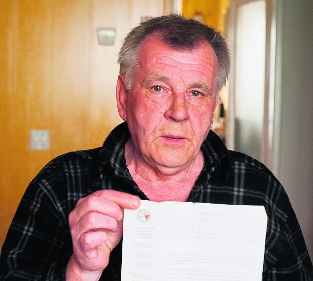 Zbigniew Pilch chciał zainteresować skarbem m.in. IPN