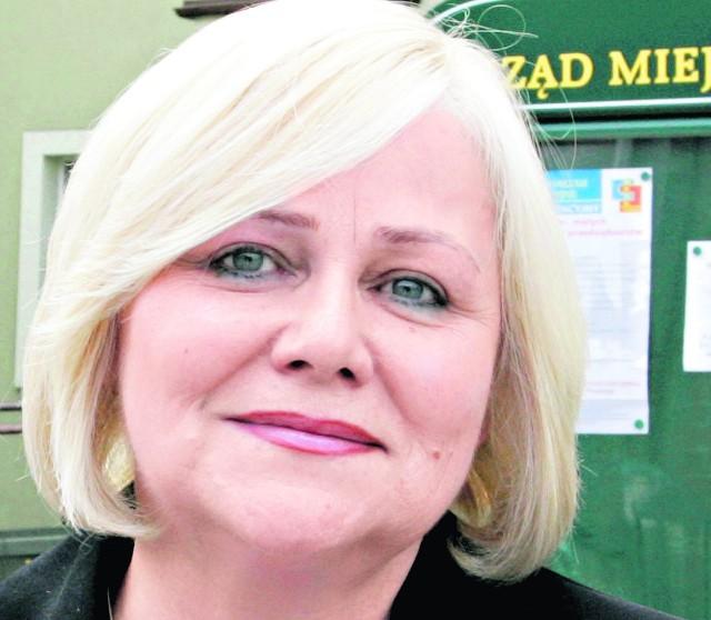 Zofia Springer, burmistrz Mosiny