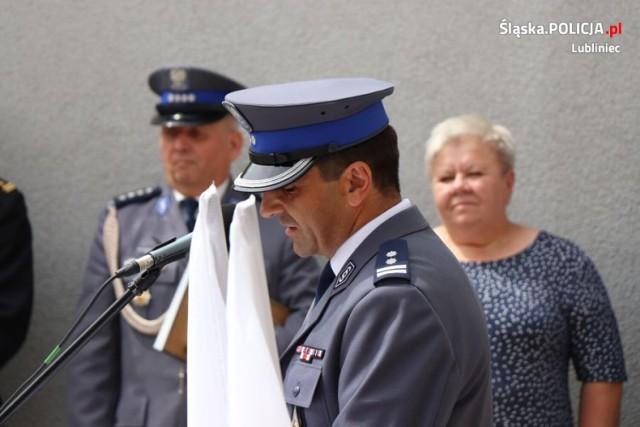Święto policji w lublinieckim garnizonie  Zobacz kolejne zdjęcia. Przesuwaj zdjęcia w prawo - naciśnij strzałkę lub przycisk NASTĘPNE