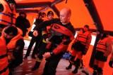 Poznań: Ćwiczenia strażaków nad Maltą [ZDJĘCIA, FILM]