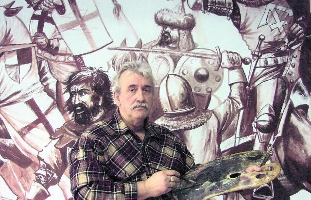 Wielka panorama bitwy byłaby wizytówką całej Europy - mówi artysta z Hrubieszowa