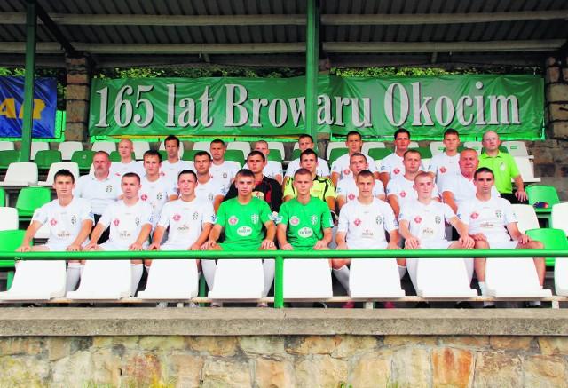 W nadchodzącym sezonie piłkarze Okocimskiego Brzesko zapowiadają bardzo ambitną walkę