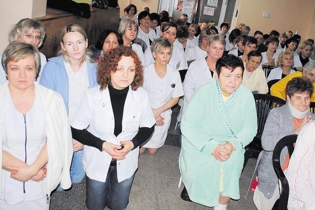 Pielęgniarki tłumnie uczestniczyły we wspólnej modlitwie