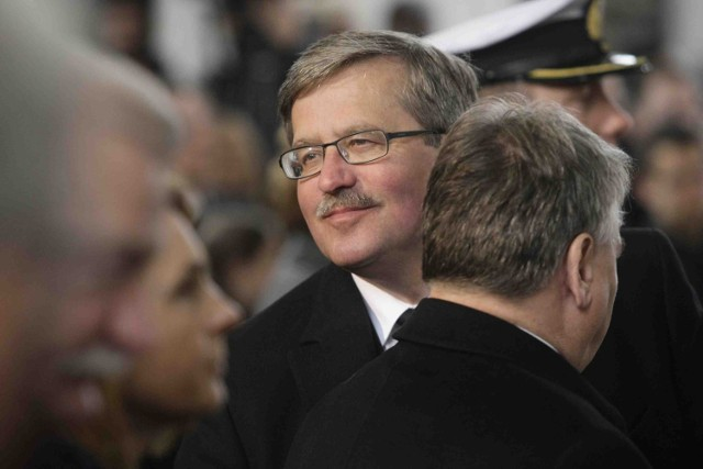 Bronisław Komorowski nie poda, kto został ułaskawiony za jego prezydentury