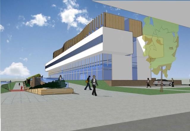 Bydynek postawi  firma Mostostal Warszawa