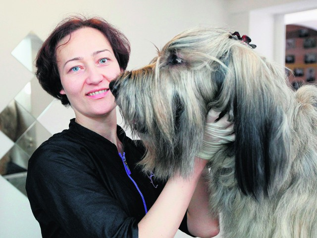 Dominika Tritt  założyła  salon piękności dla zwierząt 3 lata temu. Na brak pracy nie narzeka