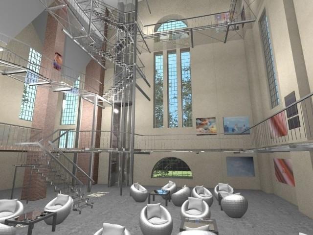 Młodzi projektanci proponują centrum wspinaczkowe lub miejsce potrzebne do działań kulturalnych