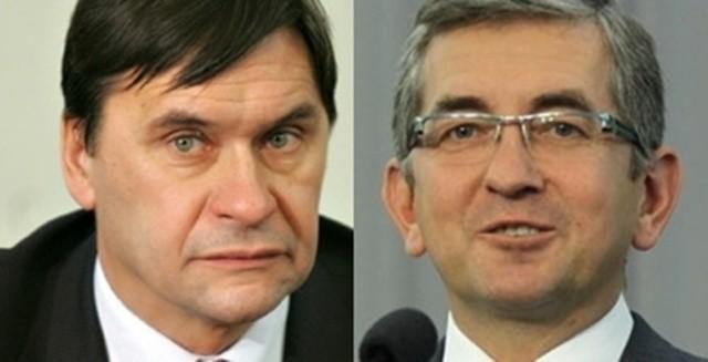 Wojciech Szarama (PiS) i Tomasz Tomczykiewicz (PO)