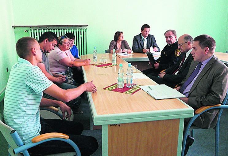 Handlarze z al. Tysiąclecia spotkali się z prezydentem Lublina