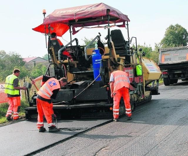 Drogowcy mają zakończyć remont drogi go 18 października