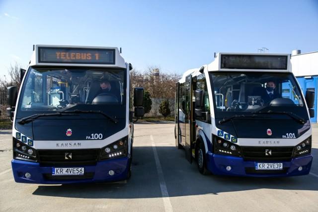 Zaprezentowano dwa nowe autobusy Karsany. To najmniejsze pojazdy we flocie MPK w Krakowie.