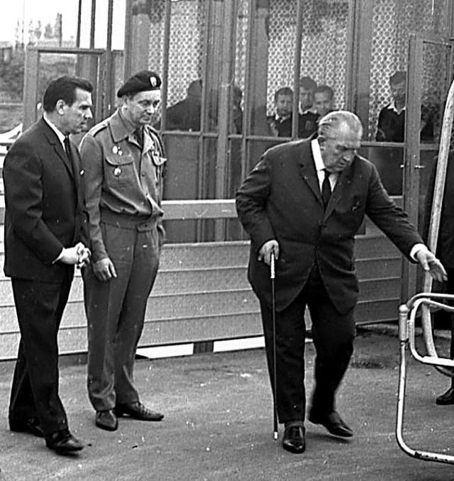 Elkę 17 września 1967 roku otwierał Jerzy Ziętek