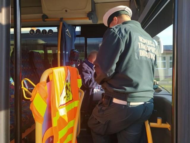 Kontrolowano autobusy miejskiej komunikacji i gimbusy