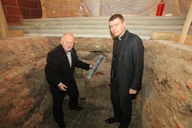 Kapsuła czasu w kościele św. Mateusza w Łodzi