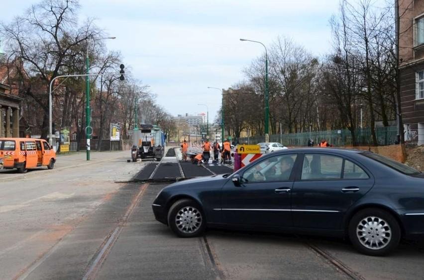 Od 10 kwietnia zmieniła się organizacja ruchu na skrzyżowaniu Grunwaldzka-Matejki-Szylinga