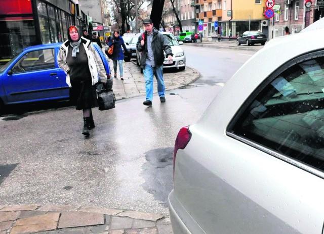 Niebezpiecznie na skrzyżowaniu ul. Granicznej z Narutowicza