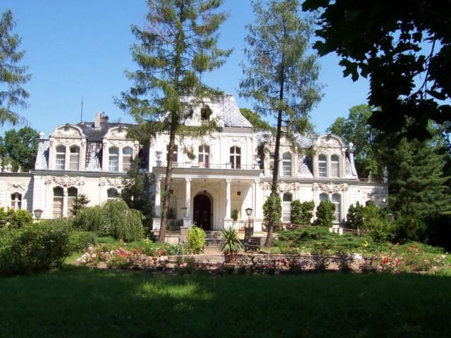 Zdjęcie pałacu w Błociszewie autorstwa Włodzimierz Jacek Adamski wykonane w 2007 roki
